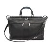 """Piel Leather Traveler 19"""" Leather Travel Duffel with Pockets"""
