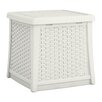 Suncast Cube 13 Gallon Resin Deck Storage Box