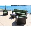 Bellini Home and Garden Marcelo 7 Piece Deep Group with Cushion