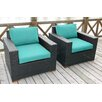 Bellini Home and Garden Pasadina Club Chair with Cushions