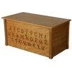 Dream Toy Box Oak Toy Box
