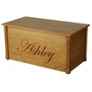 Dream Toy Box Oak Toy Box With Edwardian Lettering