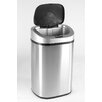 Nine Stars 21.1 Gallon Stainless Steel Motion Sensor Trash Can