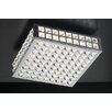 PLC Lighting Jewel Semi Flush Mount