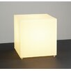 "PLC Lighting Trillius 12"" H Table Lamp with Square Shade"