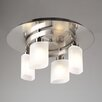 PLC Lighting Wyndham Semi Flush Mount