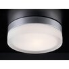 PLC Lighting 1 Light Flush Mount