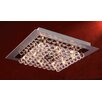 PLC Lighting Petula Semi Flush Mount