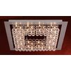 PLC Lighting Petula 24 Light Semi Flush Mount