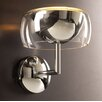 PLC Lighting 59.9Lumisphere  Wall Sconce in Polished Chrome