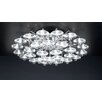PLC Lighting Diamente 12 Light Semi Flush Mount