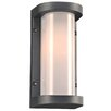 PLC Lighting Vivace 1 Light Outdoor Flush Mount