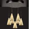 PLC Lighting Caroline 7 Light Mini Pendant
