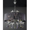 PLC Lighting Torcello 8 Light Drum Pendant