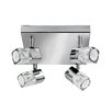 Searchlight Blocs 4 Light Ceiling Spotlight