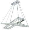 Searchlight LED Crystal Pendant