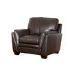 Abbyson Living Everett Top Grain Leather Armchair