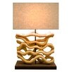 "Bellini Modern Living 26.77"" H Table Lamp with Rectangular Shade"