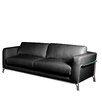 Bellini Modern Living Perch Leather Sofa