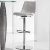 Bellini Modern Living Monte Carlo Hydraulic Bar Stool with Cushion