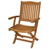 Casual Elements Trinidad Folding Dining Arm Chair