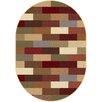 Tayse Rugs Elegance Multi Abstract Oval Area Rug