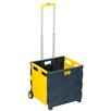 Honey Can Do Rolling Folding Carry-All Crate Utility Cart