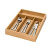 Honey Can Do 4 Compartment Bamboo Cutlery Tray