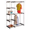 "Honey Can Do Double Rod 68"" H x 45.25"" W x 19.7"" D Freestanding Closet"