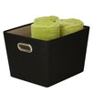 Honey Can Do Decorative Storage Bin with Handle