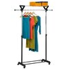 "Honey Can Do 73.2"" H x 52.75"" W x 17.3"" D Garment Rack"