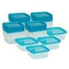 Honey Can Do 56-Piece Square Storage Container Set