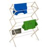 Honey Can Do Wood Folding Clothes Drying Rack