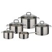 ELO Straightline 5-Piece Stainless Steel Cookware Set