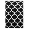 L.A. Rugs Capri Black/White Area Rug
