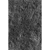 L.A. Rugs Soft Shaggy Black Indoor Area Rug