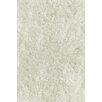 L.A. Rugs Soft Shaggy White Indoor Area Rug