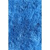 L.A. Rugs Soft Shaggy Blue Indoor Area Rug
