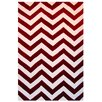 L.A. Rugs Capri Red/White Area Rug