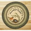 Earth Rugs Robins Nest Printed Area Rug