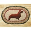 Earth Rugs Dachshund Printed Area Rug