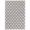 Dash and Albert Rugs Samode Hand Woven Grey Indoor/Outdoor Area Rug