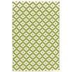 Dash and Albert Rugs Samode Hand Woven Green Indoor/Outdoor Area Rug