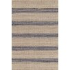 Dash and Albert Rugs Hand Woven Beige/Blue Area Rug