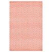 Dash and Albert Rugs Diamond Pink Indoor/Outdoor Area Rug