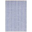 Dash and Albert Rugs Fair Isle Blue/Ivory Area Rug