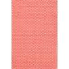 Dash and Albert Rugs Rope Pink Solid Indoor/Outdoor Area Rug