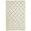Dash and Albert Rugs Plain Tin Hooked Green Area Rug