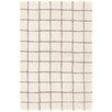 Dash and Albert Rugs Grid Ivory Area Rug