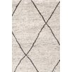 Dash and Albert Rugs Knotted Grey Area Rug